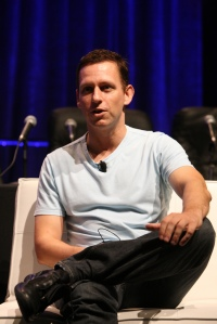 Peter Thiel at TechCrunch borrowed from Wiki according to Creative Commons terms -- THANKS