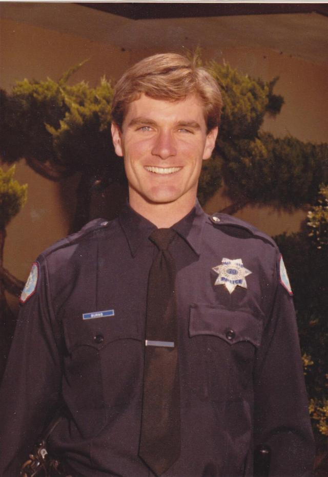 Courtesy PAPD twitter feed, our Chief Dennis Burns, back in 1982