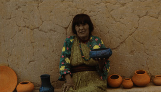 Maria Martinez the San I potter, photo by Adombe of Santa Fe