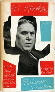 Mencken paperback on Vintage designed by Paul Rand