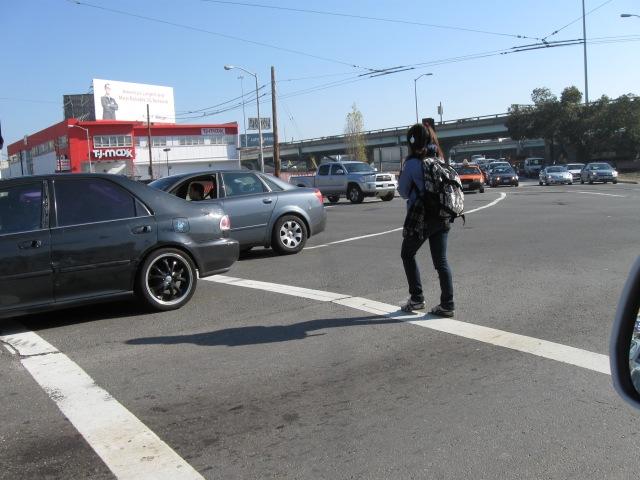 one person v seven car