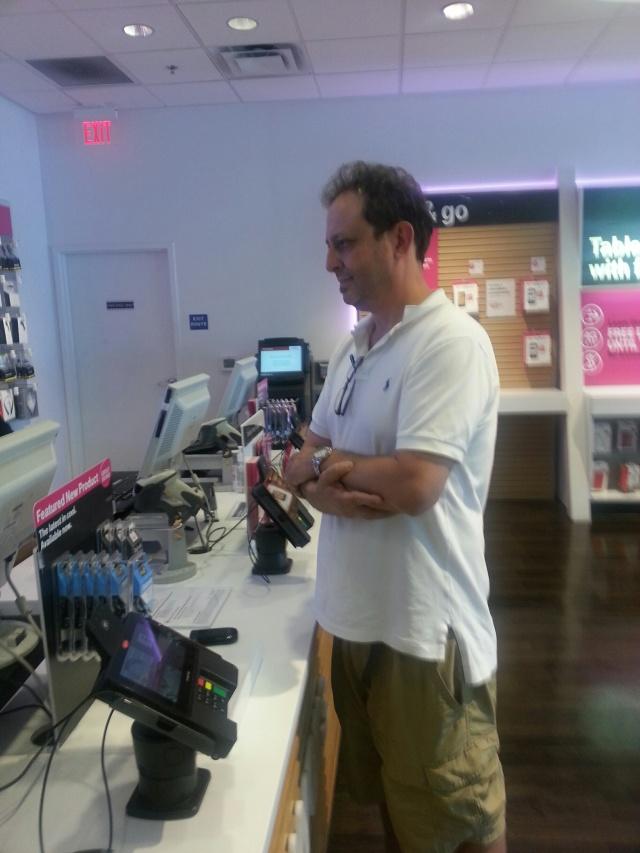Scott shot the blogger but he did not shoot the Retail Store Associates