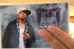 thumbnail of qbert card selfie