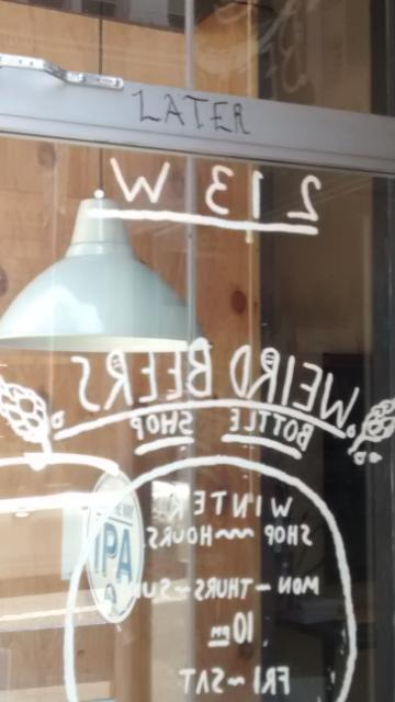"I thought I saw my name WEIS but it actually says 213 W. as in ""west"" but also the area code for that part of La-La."