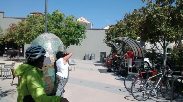 event 9/20/14 Lytton DESIGNED site specific by mark weiss for earthwise of paloalto