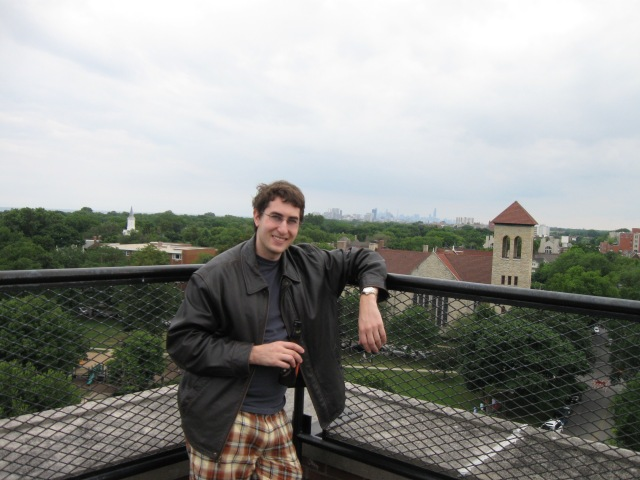 Former Earthwise intern and analyst Noah Metz (Gunn, Northwestern) Evanston, 2009