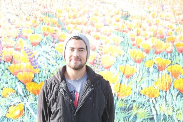 Future Red and former Jordan Jaguar Alex Blandino gives new meaning to big poppies on Cali Ave