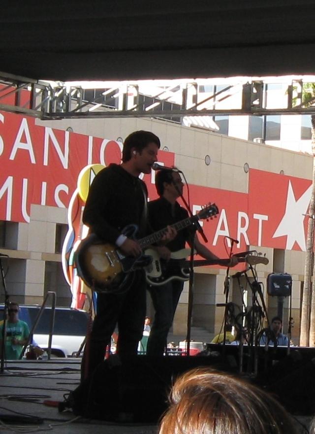 Matt Nathanson San Jose 2009 Chavez Plaza