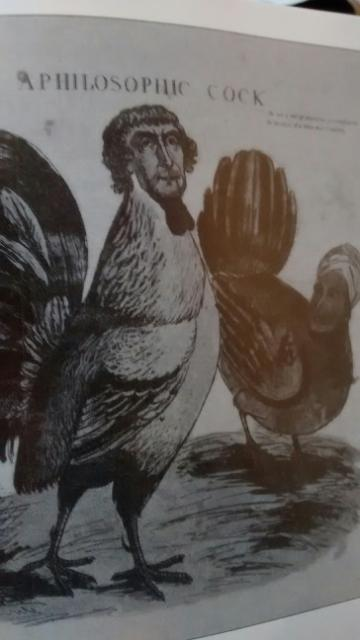 """Thomas Jefferson and Sally Hemings as depicted in 1804, """"A Philosophic Cock"""""""