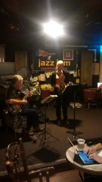 Bill Murphy, guitar; Esther Berndt, alto sax