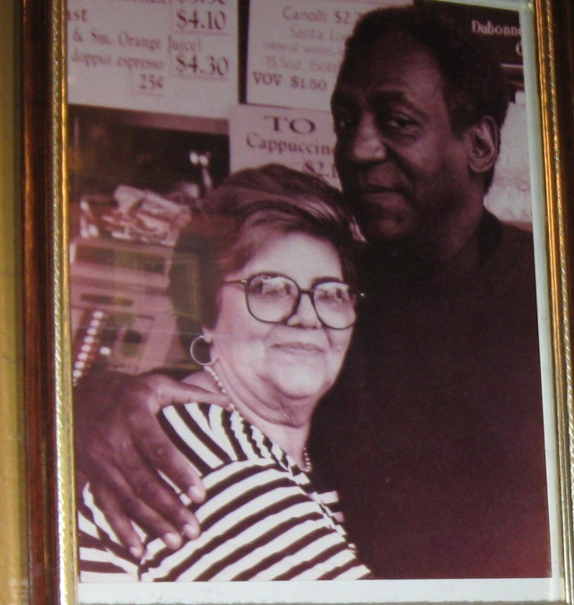 At Caffe Trieste, Vallejo and Grant, circa 1990, my photo is circa 2009