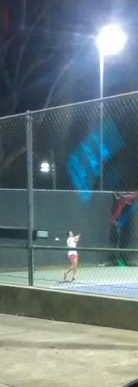Sara Choy the Oak Creek tennis giant