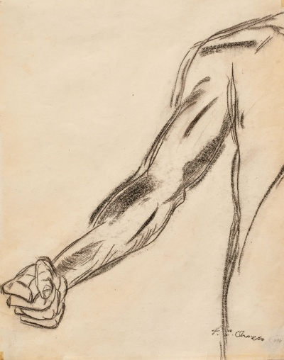 High fives or fist bumps all around for Orozco sketches coming to San Jose Museum of Art, March, 2015