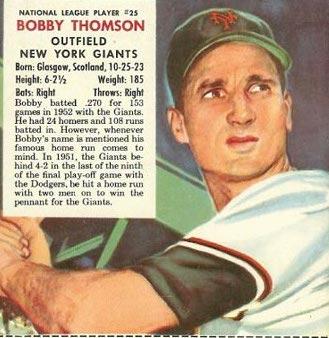 1953redmanbobbythomson