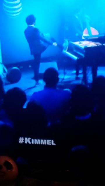 kicking it with jamie cullum, captured from Kimmel, 2015