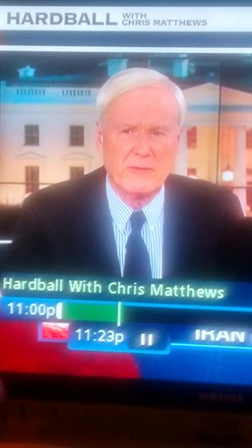 I kinda confuse Chris Matthews and Mike McFaul