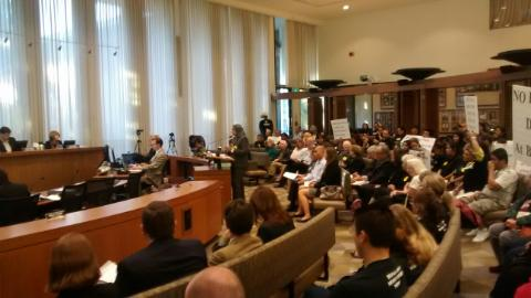 attorney for Buena Vista residents addressing Palo Alto City council, tuesday, April 14, 2014