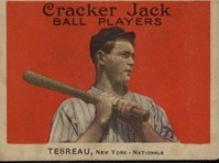 Jeff Tesreau of the Giants, also known as Jack? This is a 1914 candy era card
