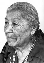 Picture of Christina Naranjo of Santa Clara Pueblo