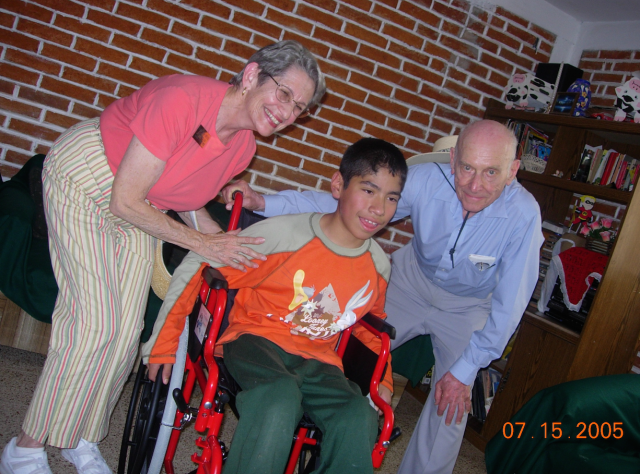 Paul and Barbara Weiss went to Mexico in July, 2005 to give wheelchairs to those needing. The obituary which appeared in last week's Palo Alto Weekly claims this was 2011. Did he go twice?