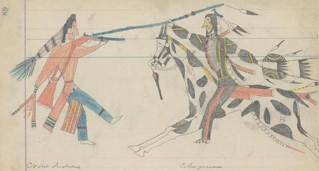 Crow-Cheyenne-fight